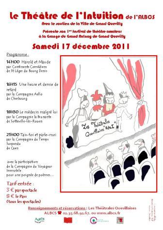 festival de théâtre amateur Rouen