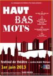 Festival Haut Bas mots rouen
